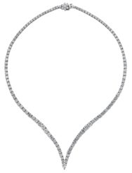Be Mine, 18k White Gold, 16.72ct,