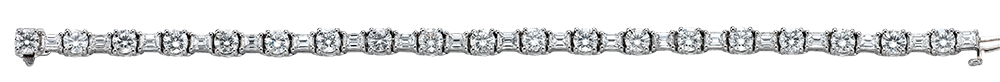 18k White Gold, 5.8ct